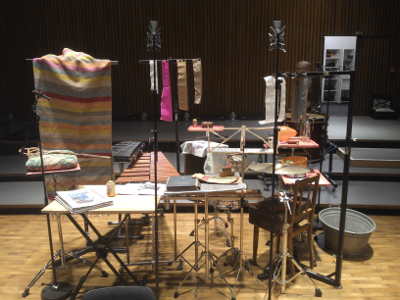 Adams esthetically pleasing setup for Ligeti's Aventures